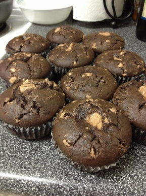 Gluten Free Chocolate Cup Cakes
